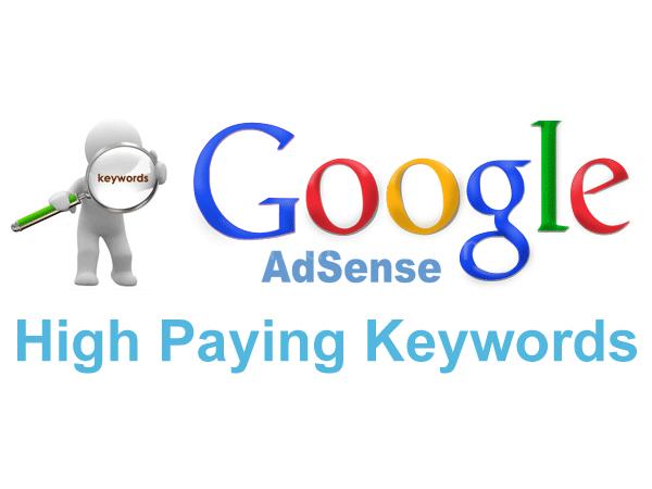 Google Adsense 高价格CPC关键词检索